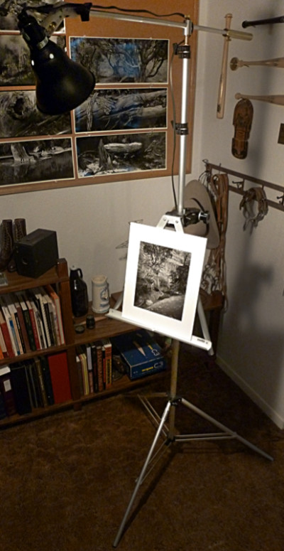 Lighted Easel