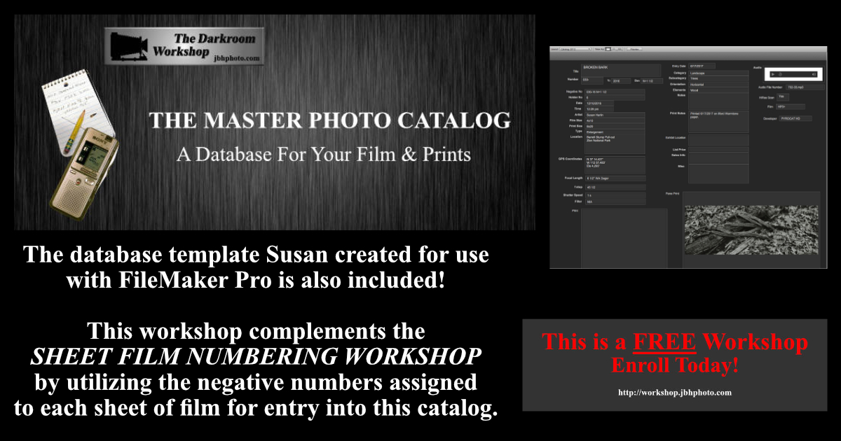 Master Photo Catalog