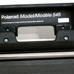 POLAROID 545 LAND FILM HOLDER